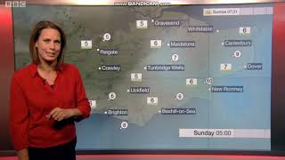 Nina Ridge BBC South East weather presenter
