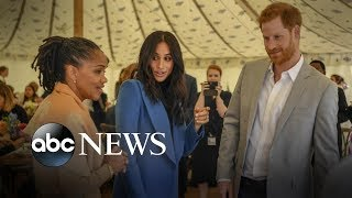 Meghan Markle's mom joins the royal couple at luncheon