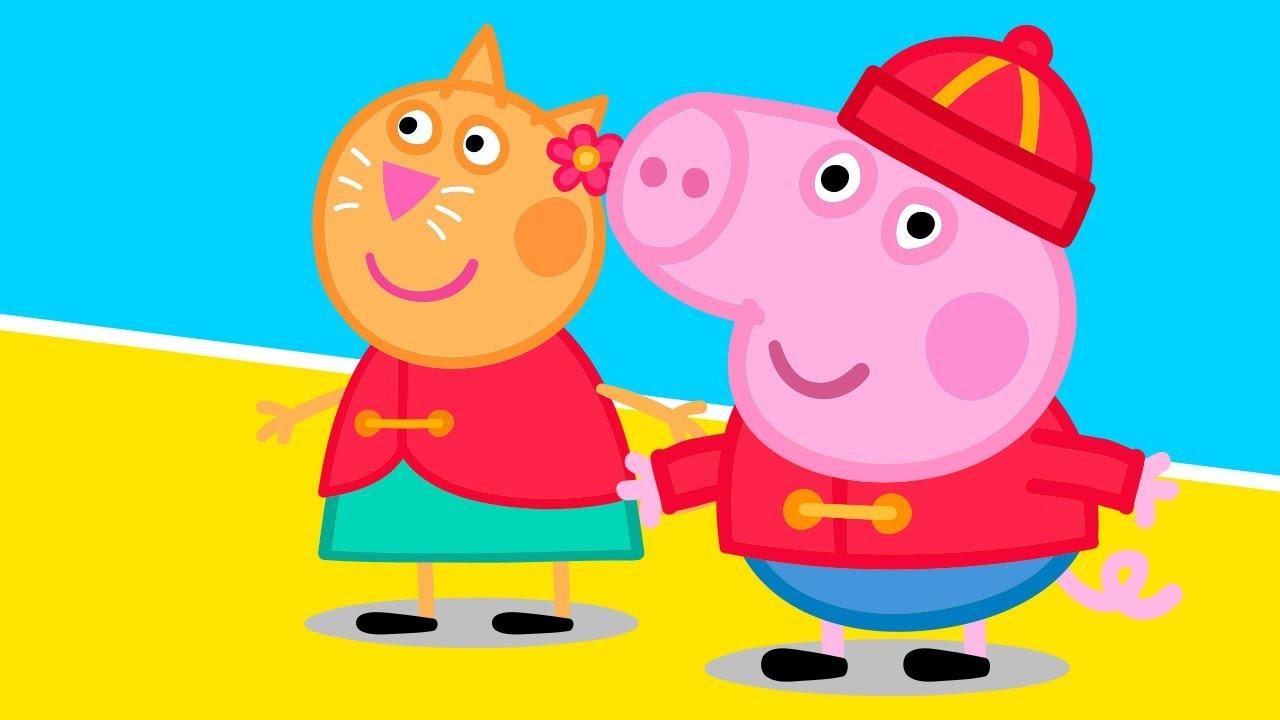 вообще смотреть свинка пеппа на русском сказала