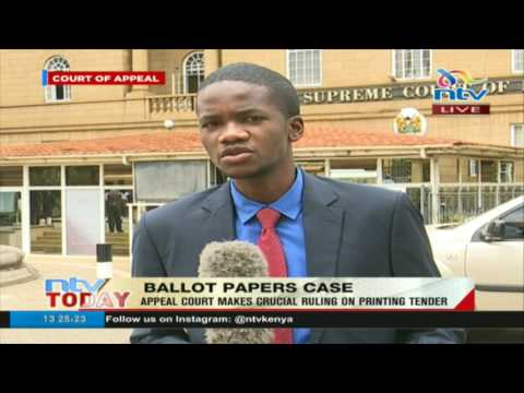 The Court of appeal was looking at the interest of Kenyans