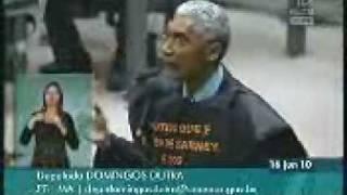 Bolsonaro esculhamba Domingos Dutra (PT-MA)