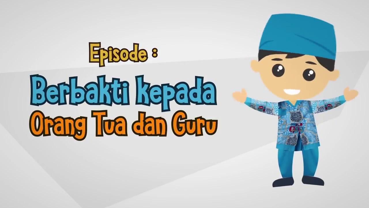 Animasi Pendidikan Karakter Berbakti Kepada Orang Tua Dan Guru
