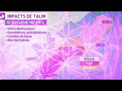 Méditation pour les tempêtes Talim et Doksuri