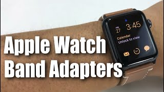 Oittm 42mm Apple Watch Band Adapters Review