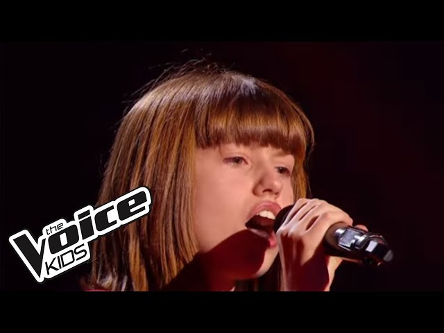 The Voice Kids 2015 | Marine - Rolling in the Deep (Adele) | Blind Audition