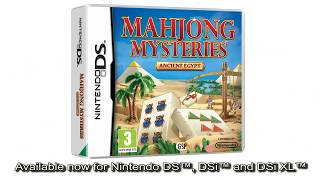 Mahjong Mysteries Ancient Egypt - Trailer (Nintendo DS)