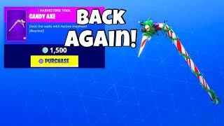 CHRISTMAS SKINS ARE BACK! (New Item Shop) Fortnite Battle Royale