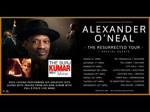 Alexander O Neal Interview 2017