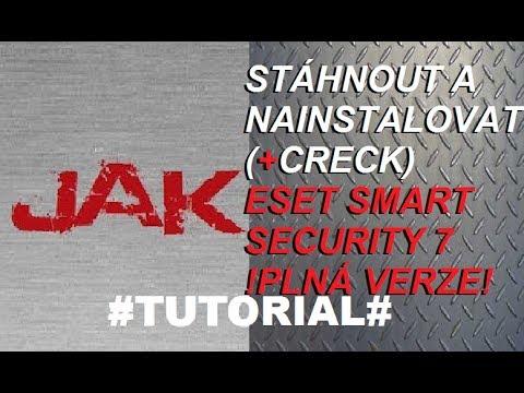Jak stáhnout a nainstalovat ESET Smart Security 7 / PLNÁ VERZE!  [CZTUTORIAL]