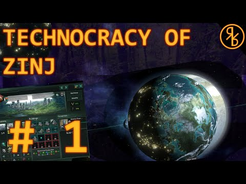 Stellaris: MegaCorp Live: The Technocracy of Zinj