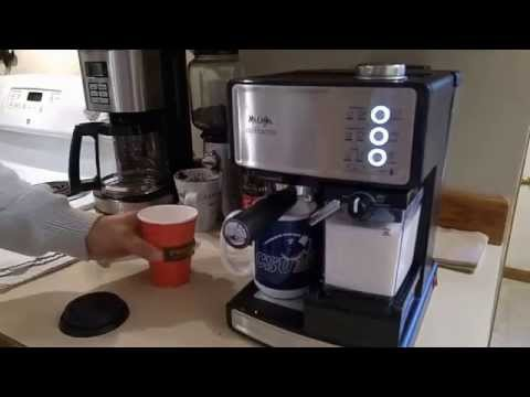 Mr. Coffee Espresso Barista (First Latte)