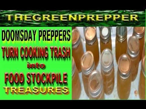( DOOMSDAY PREPPERS ) Turn Cooking TRASH into FOOD STOCKPILE TREASURE ( shtf wrol )