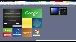 Chrome в стиле Windows 8