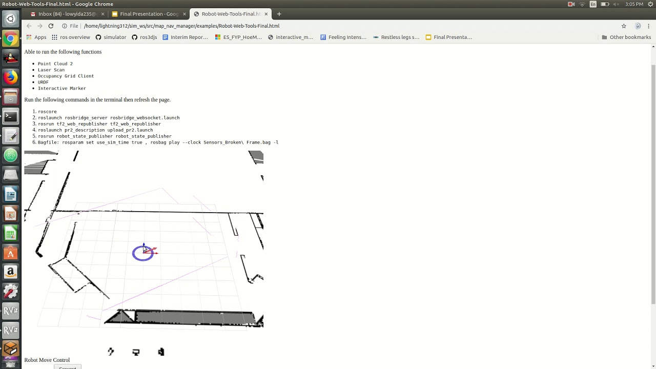 Init Pose function for Robot Web Tool - YouTube