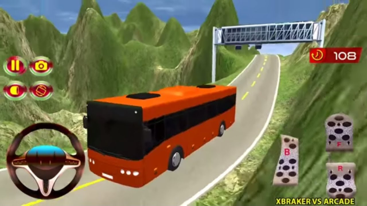 Bus Mountain Drive 3D Android Gamplay 2018