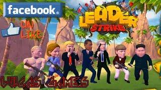 LEADER STRIKE Juego Shooter Multijugador Gratis PC y Facebook