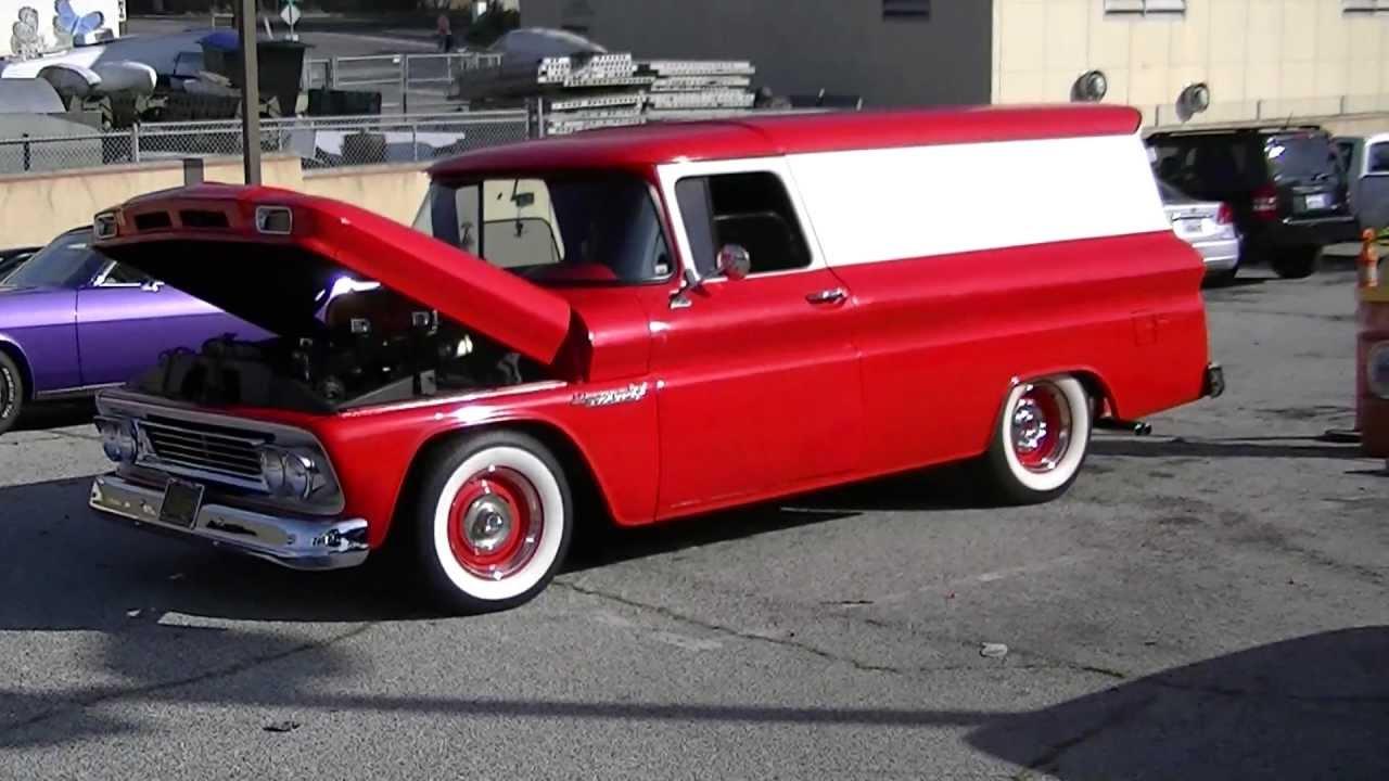 Truck 1963 chevy panel truck for sale : Custom Chevrolet Apache Panel Truck - YouTube