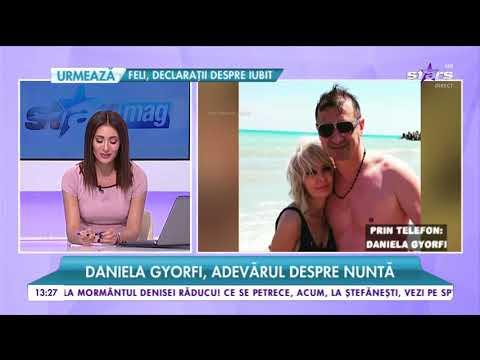 """Daniela Gyorfi, adevărul despre nuntă: """"M-a cerut de mai multe ori de nevastă, dar nu s-a finalizat"""