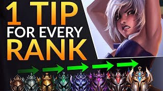 1 SECRET TIP for EVERY Rank | Top Lane Tricks to Rank up FAST - League of Legends Challenger Guide