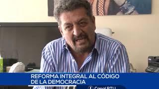 EL CÓDIGO DE LA DEMOCRACIA SE DEBE REFORMAR, SEGÚN ANALISTA ELECTORAL