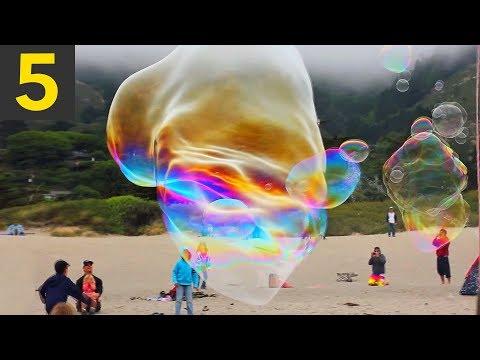 Top 5 Giant Bubbles - Unbelievable!