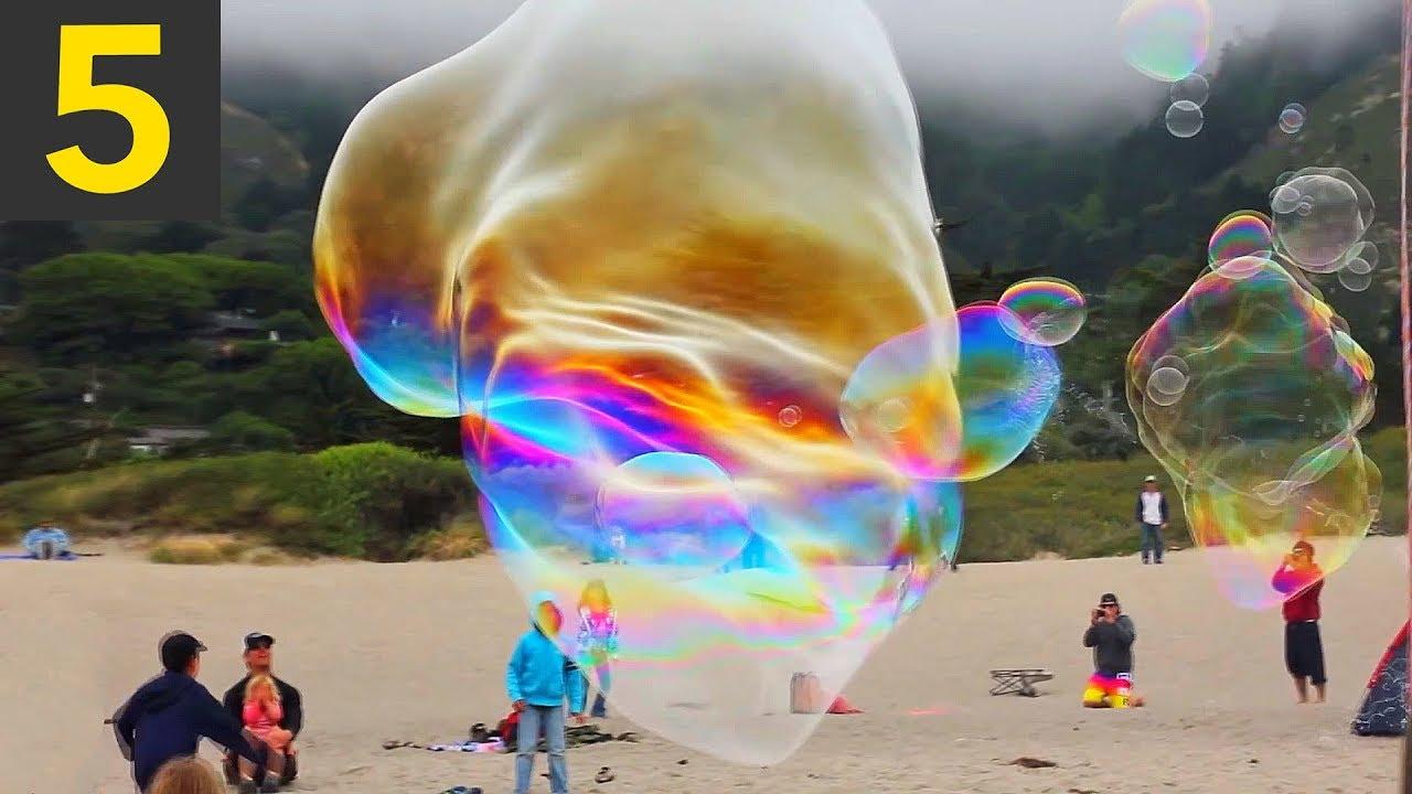 Download Top 5 Giant Bubbles - Unbelievable!