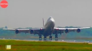 CLOSE-UP HEAVY ACTION    1 Hour of Plane Spotting at London Gatwick Airport!