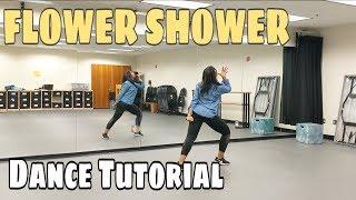HYUNA 'FLOWER SHOWER' - DANCE TUTORIAL