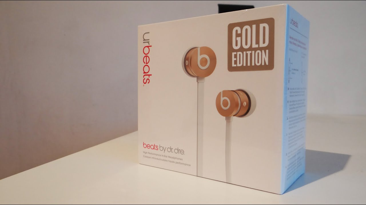Gold UrBeats (2014 Special Edition) First Look - YouTube