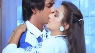 Farha greets her BoyFriend with Kisses - Hindi Movie Scene 11/13 | Neelam, Govinda | Love 86 (k)