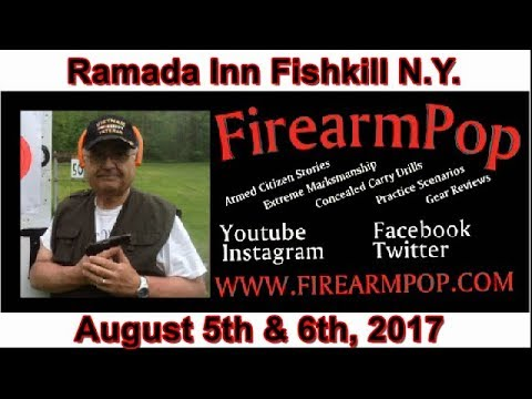 Ramada Inn Fishkill, NY GUN SHOW 8/5-6/2017 By FirearmPop