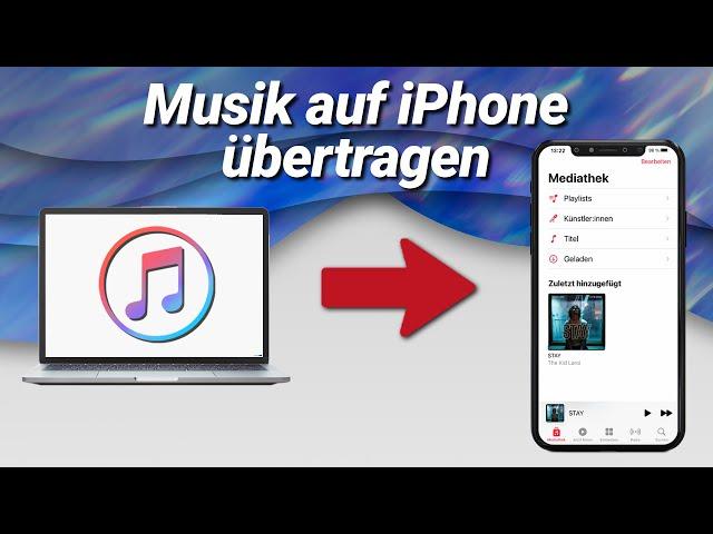 Musik auf iPhone übertragen mit iTunes (iOS15)