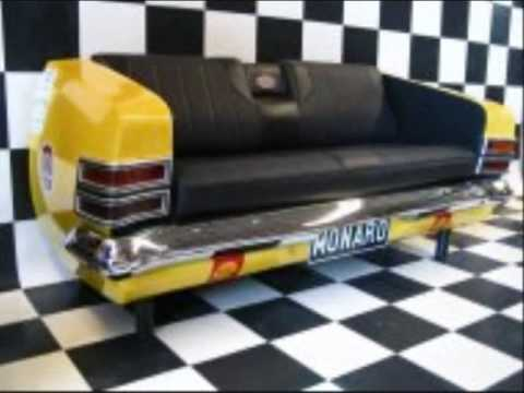 Custom car furniture youtube Custom furniture made car parts