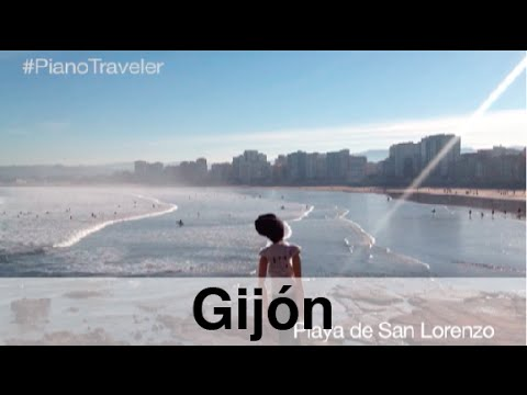 [Piano Traveler] 2 minutes of another Gijón