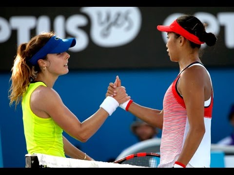 Zhang Shuai VS Alize Cornet Highlight 2016 R2