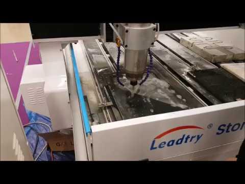 Алмазная фреза DONATELLO для мрамора в работе