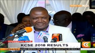 The announcement of KCSE Results 2018 [PART 2]