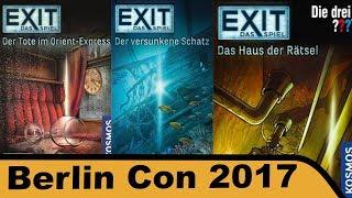 Exit: Das Spiel - Der Tote im Orient Express - Der versunkene Schatz - Das Haus der Rätsel
