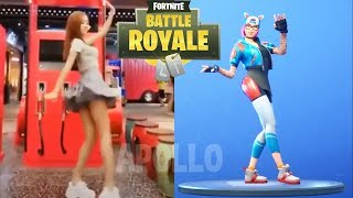 FORTNITE Dances In Real Life ? Season 7