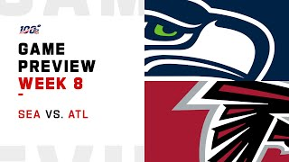 Seattle Seahawks vs Atlanta Falcons Week 8 NFL Game Preview