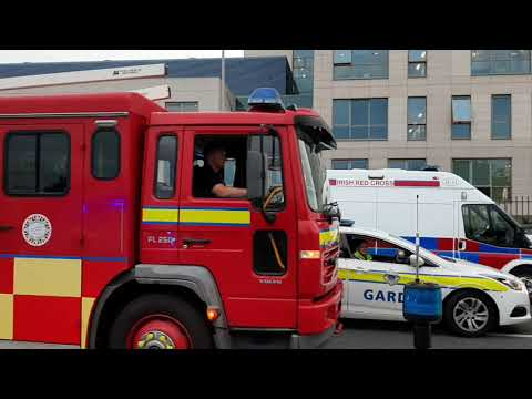 Limerick's Emergency Services Appreciation Drive For Healthcare Workers
