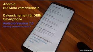 seppel-spart.de - Android: SD-Karte verschlüsseln – Datensicherheit am Beispiel Samsung Galaxy S8