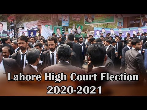 Legal Hap Lahore High Court Election 2020-21 (Part 1)