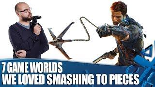 7 Game Worlds We Really Enjoyed Smashing To Pieces