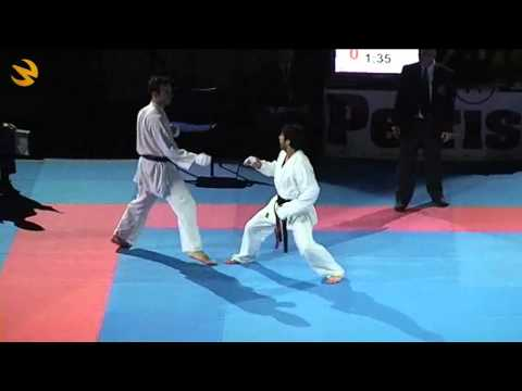 FINAL- World Karate Champion Rashad HUSEYNOV - AZERBAIJAN - ITALY  /  WKC 2011