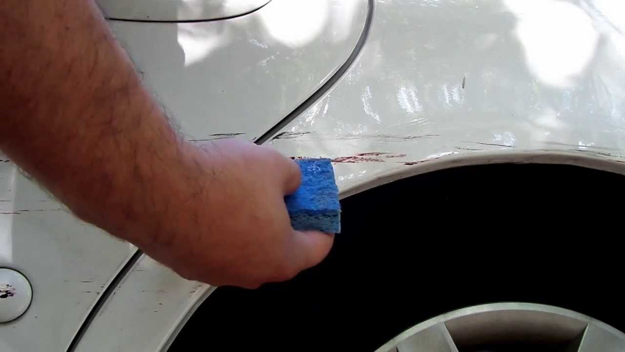 How Do I Remove Paint From My Car Bumper
