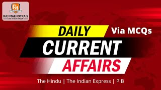 Daily Current Affairs MCQ's | 2nd April 2021 | UPSC |