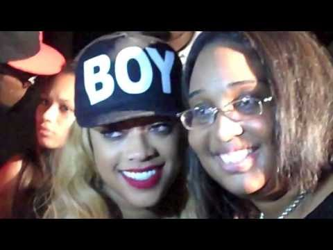 A Fan Backstage at Female Rap Super Star Trina