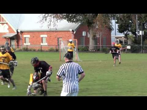 State League Lacrosse - Eltham vs Malvern on 10 May 2014
