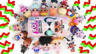 WRONG HEADS! LOL SURPRISE MIX AND MATCH GAME WITH HAIR SPRAY HAIRGOALS BLIND BAGS